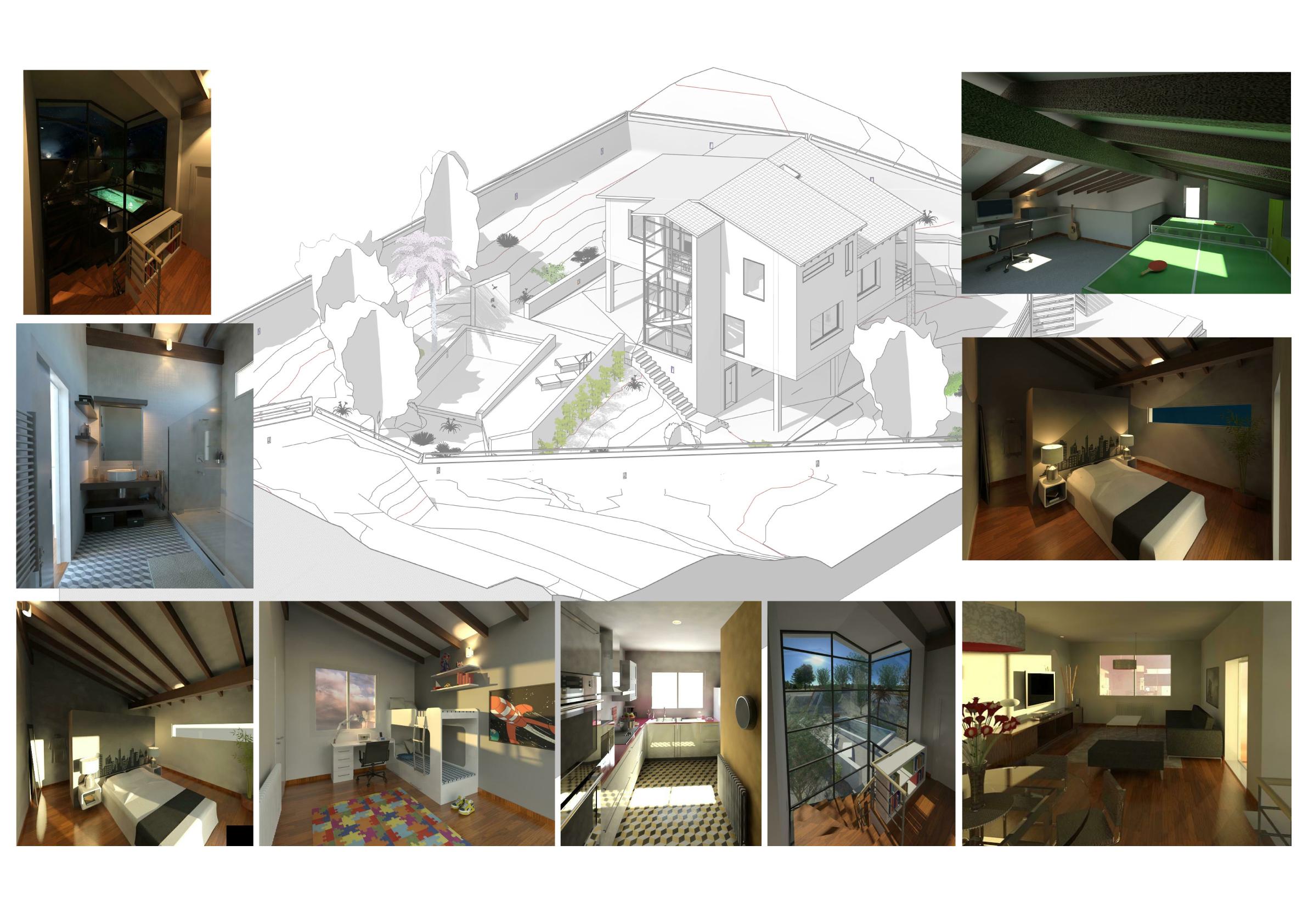 Delinearte proyecto final casa unifamiliar - Proyecto casa unifamiliar ...