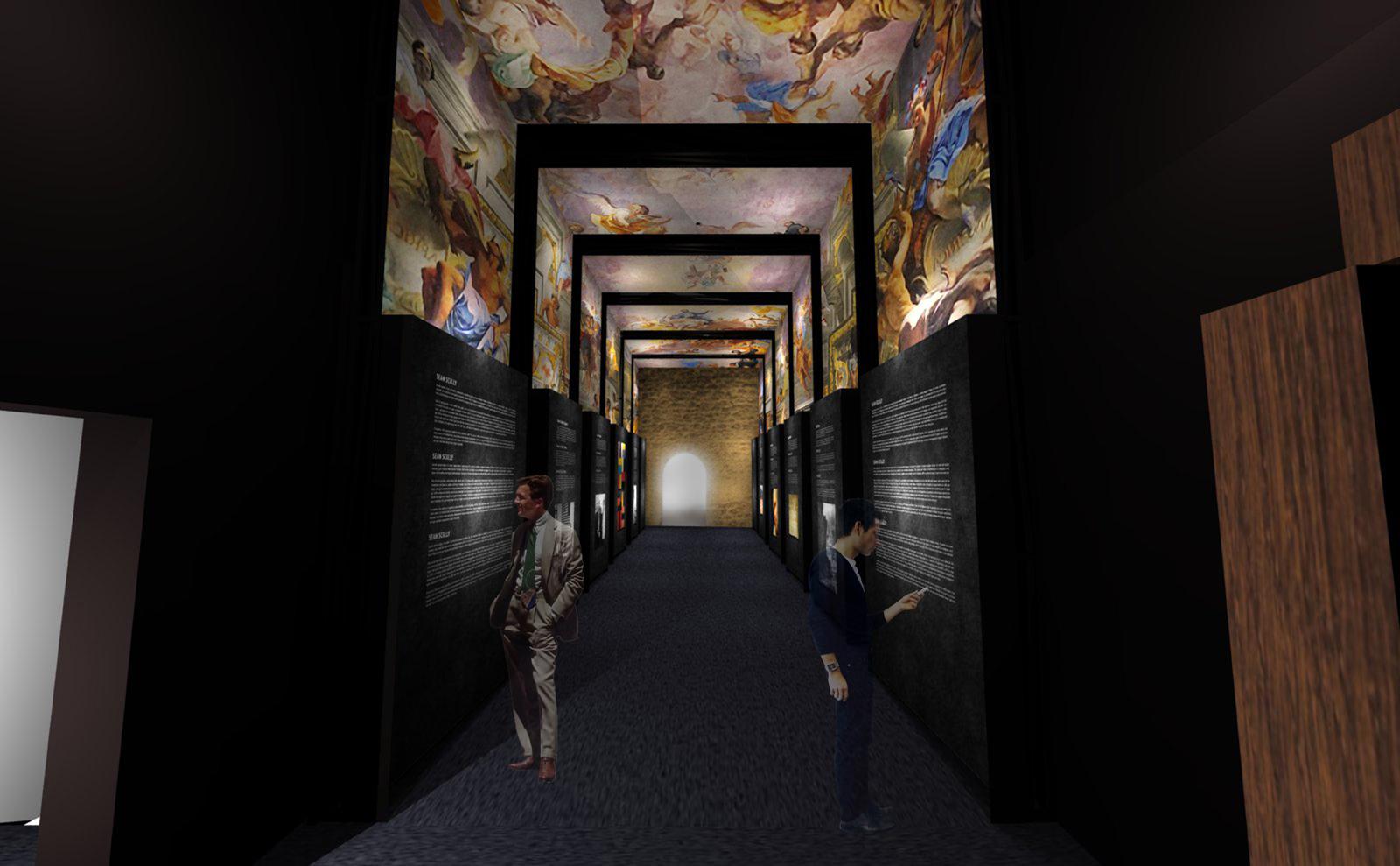 Exposición ermita de Sta Cecilia de Montserrat