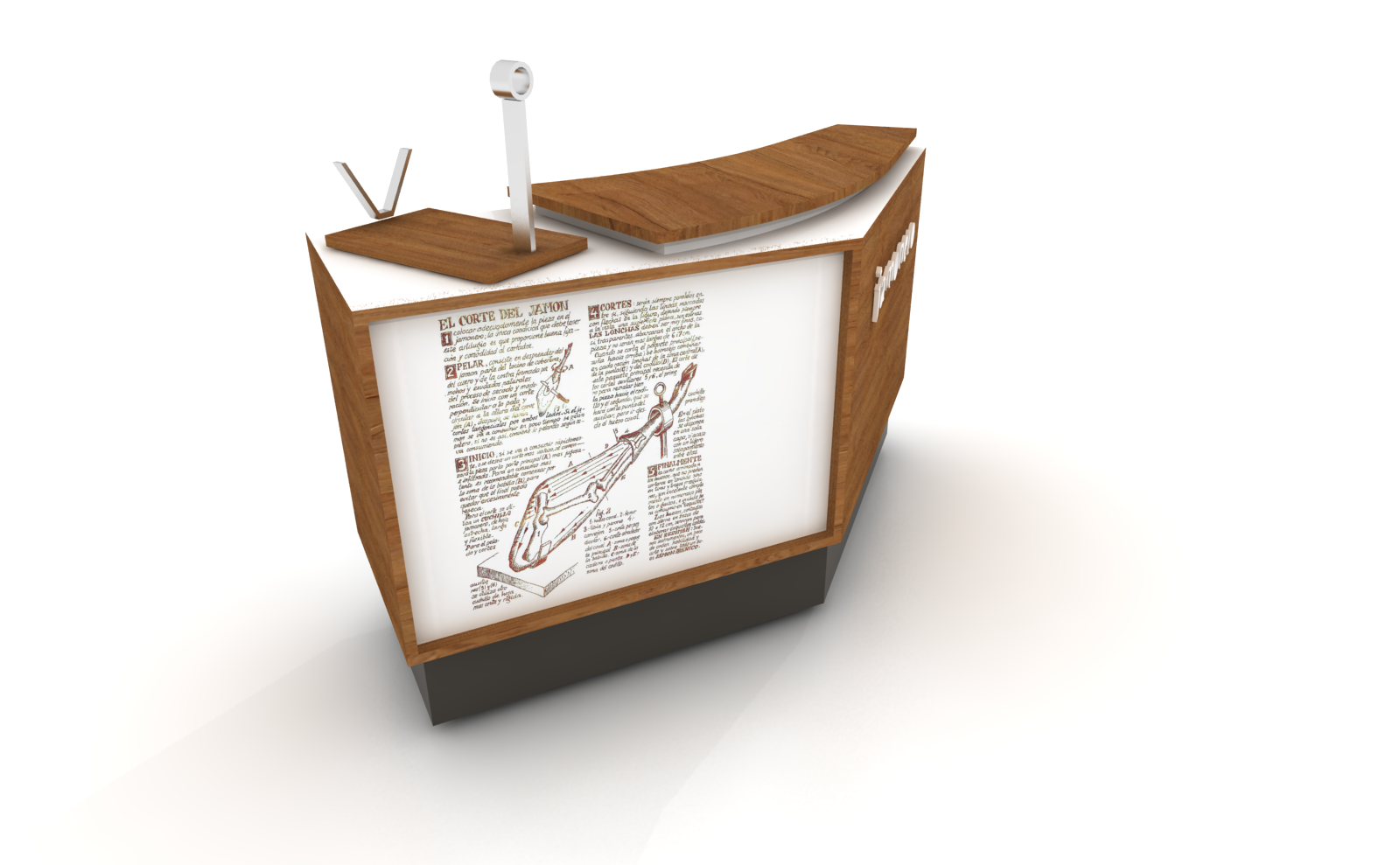 Detalle constructivo mueble