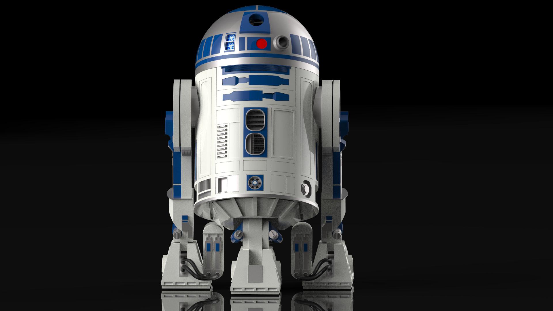 Modelado R2-D2
